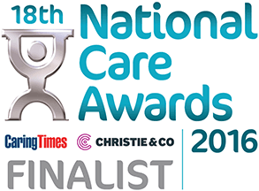 National Care Awards 2016 Finalist