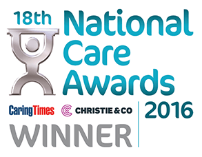 National Care Awards 2016 - Winner Best Care Home